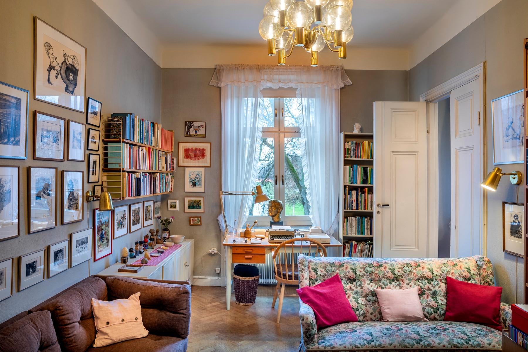Astrid Lindgren's flat in Stockholm