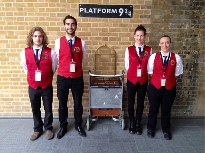Platform  9 ¾  in London, לונדון