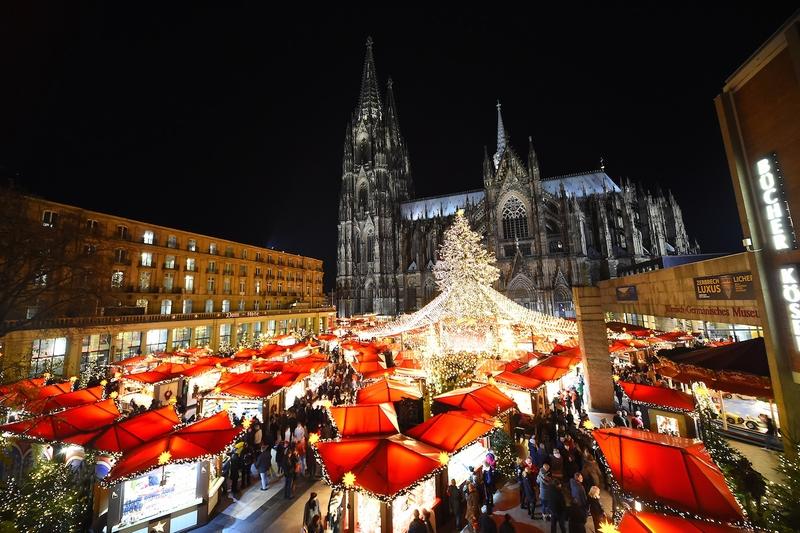 ケルンのクリスマスマーケット(ドイツ)