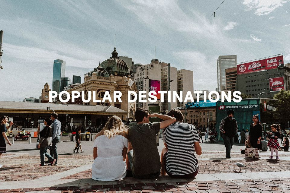 Popular Holiday Destinations