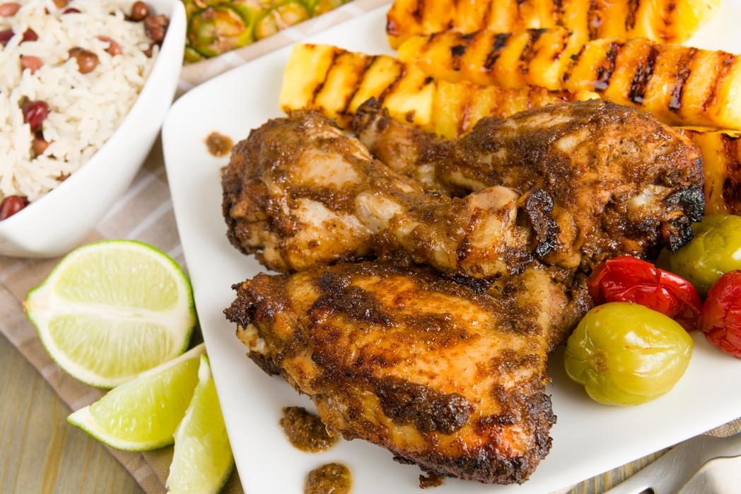 Poulet Jerk, plat traditionnel de la Jamaïque