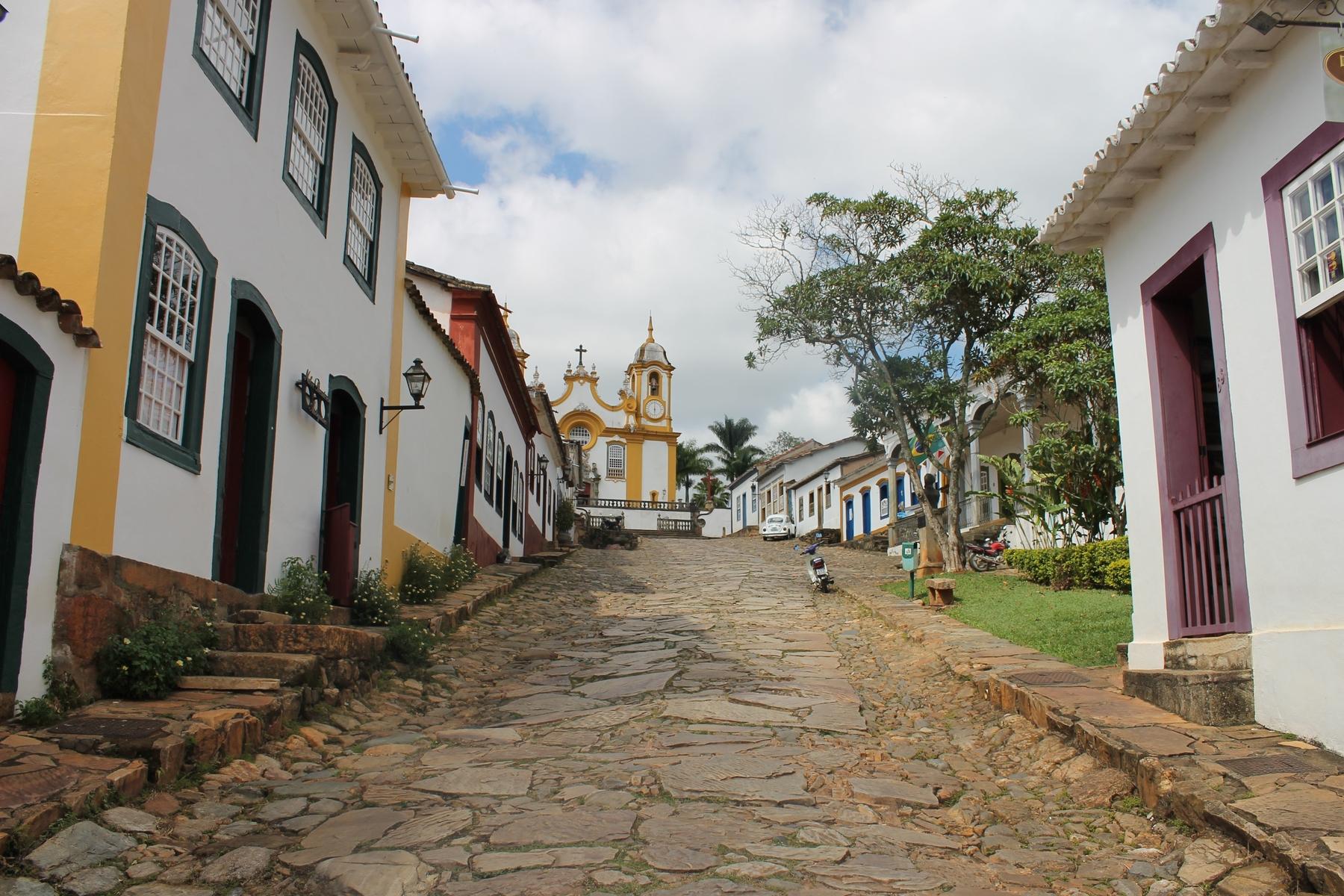 Tiradentes, cidade histórica de Minas Gerais
