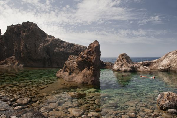 'Spa' natural en La Palma