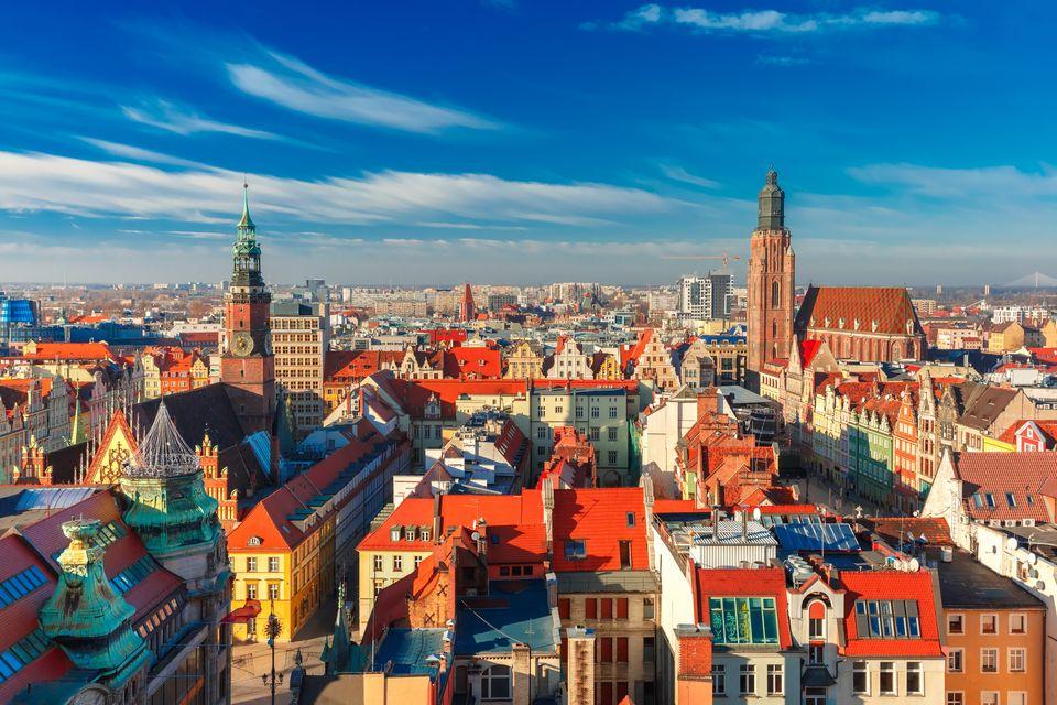 Malowniczy Wrocław