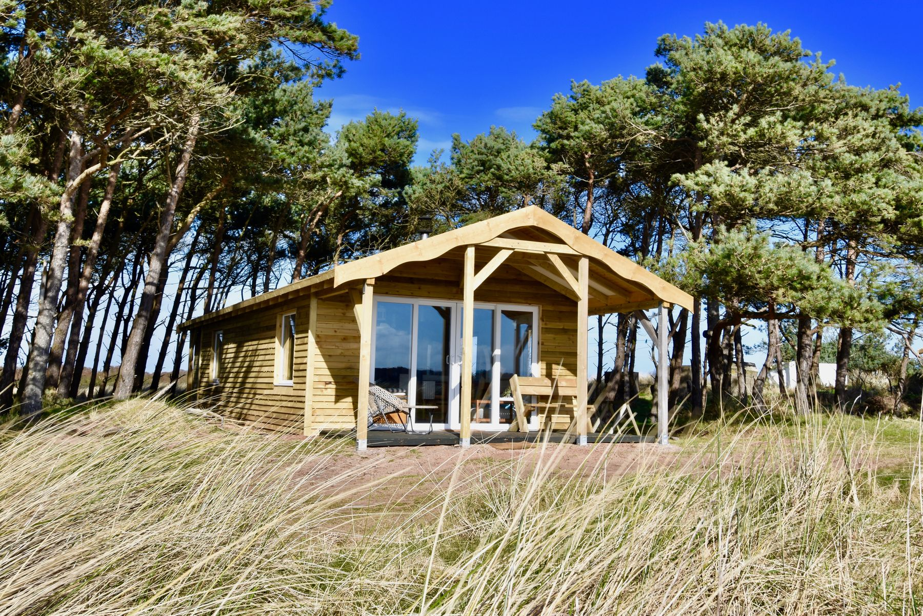 One of the best beach hotels for glamping in Scotland