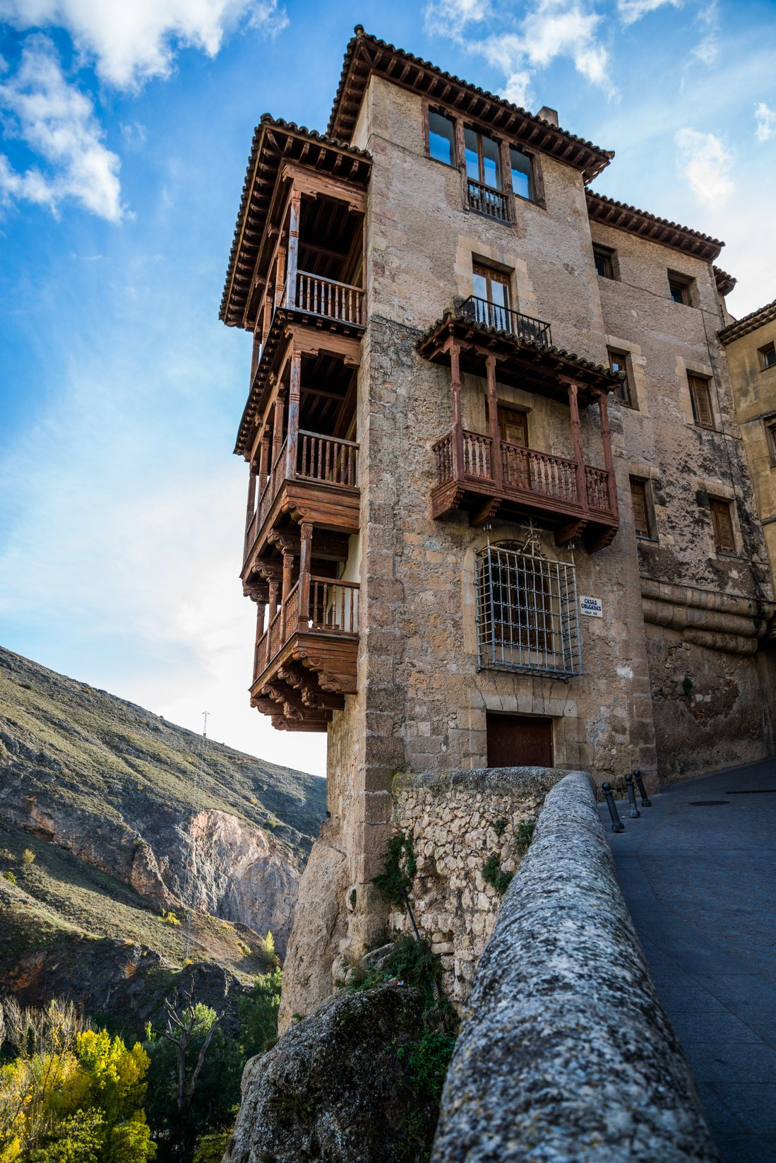 Hanged houses in Cuenca, Spain - one of the most magical places on the planet