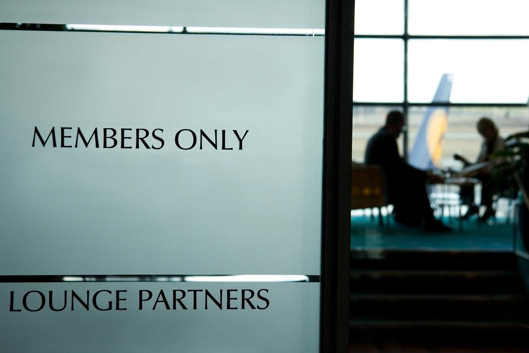 Acordos entre linhas aéreas permitem o compartilhamento de sala de espera vip de empresas parceiras
