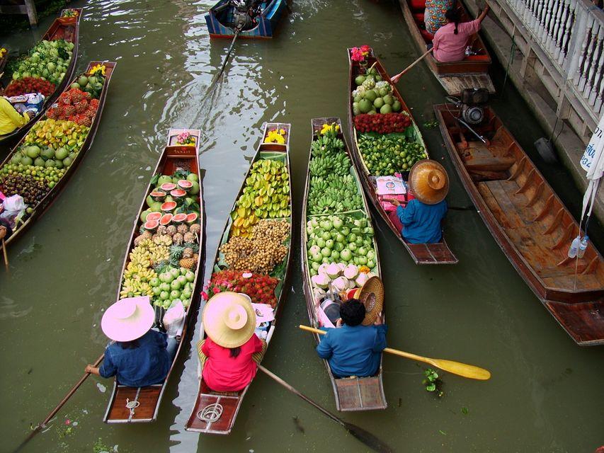 Bangkok Pazarı