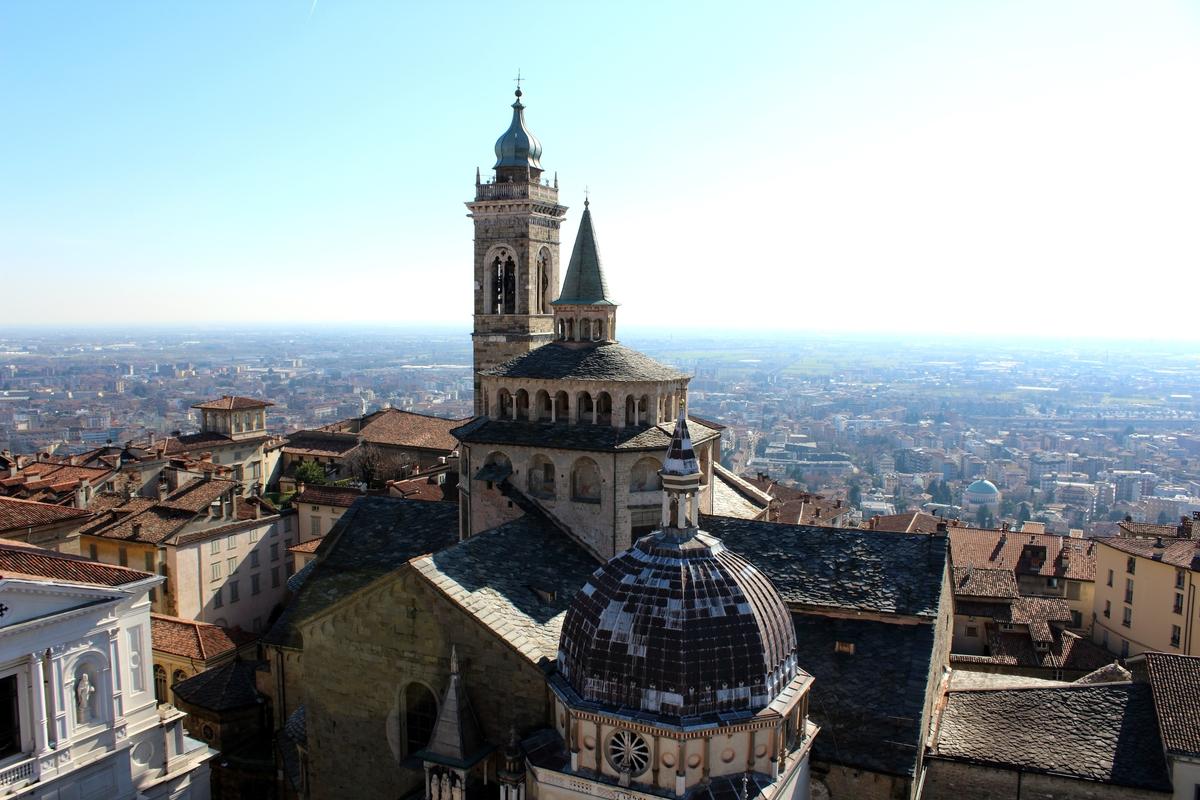 Bergamo cosa vedere: Basilica di Santa Maria Maggiore