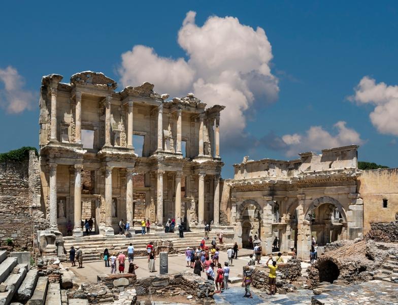 Biblioteca di Efeso, Turchia
