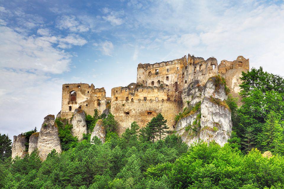 Крепость Спишский град в Словакии