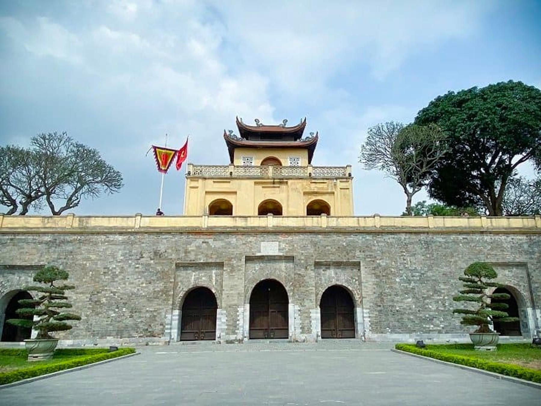 Thang Long Citadel in Hanoi, Vietnam (March 2020)