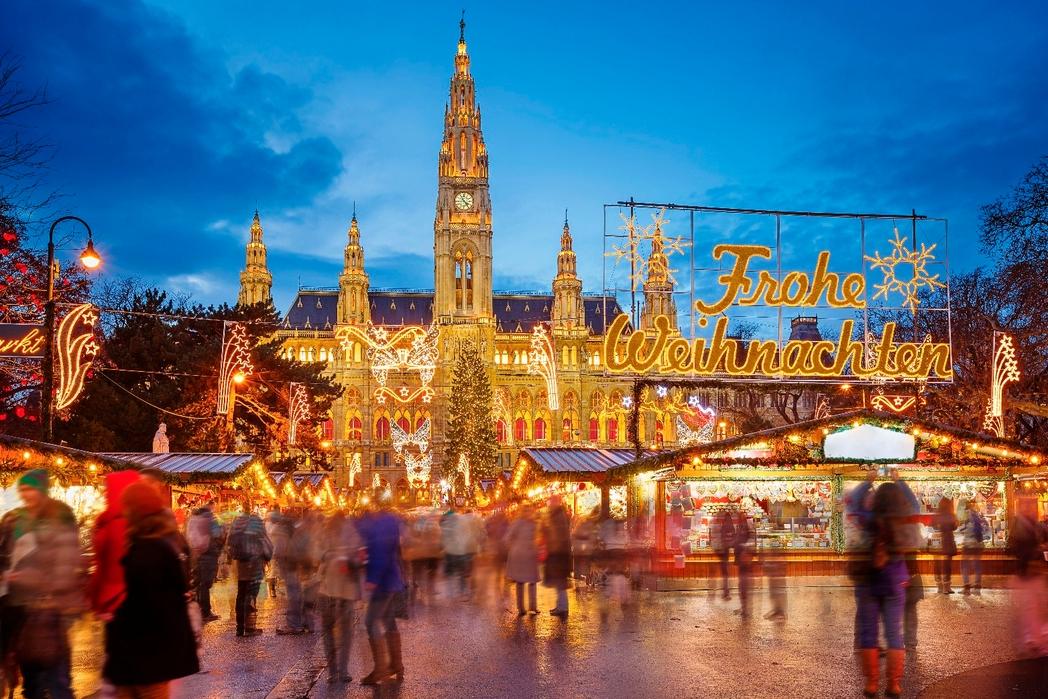 Η χριστουγεννιάτικη αγορά της Βιέννης, Αυστρία