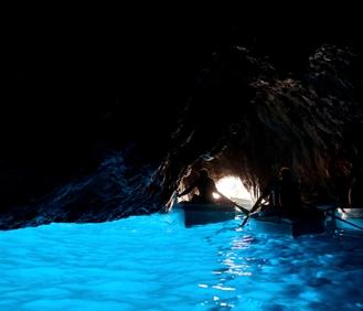 Blue Grotto Sea Cave