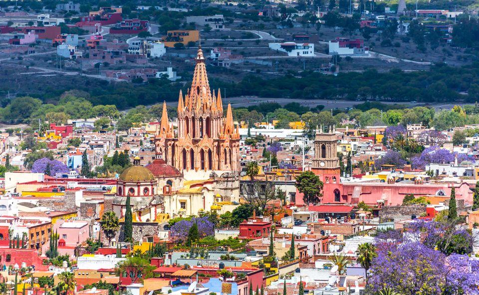 San Miguel de Allende, uma das cidades do México mais interessantes