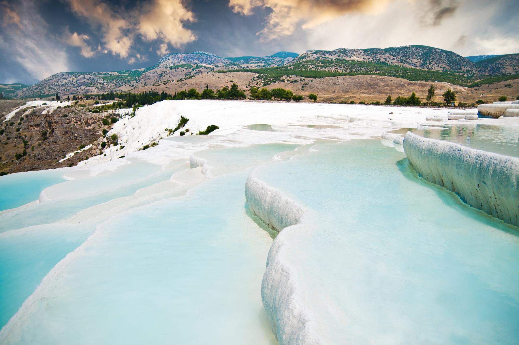 Los 20 lugares más espectaculares del mundo: Pamukkale