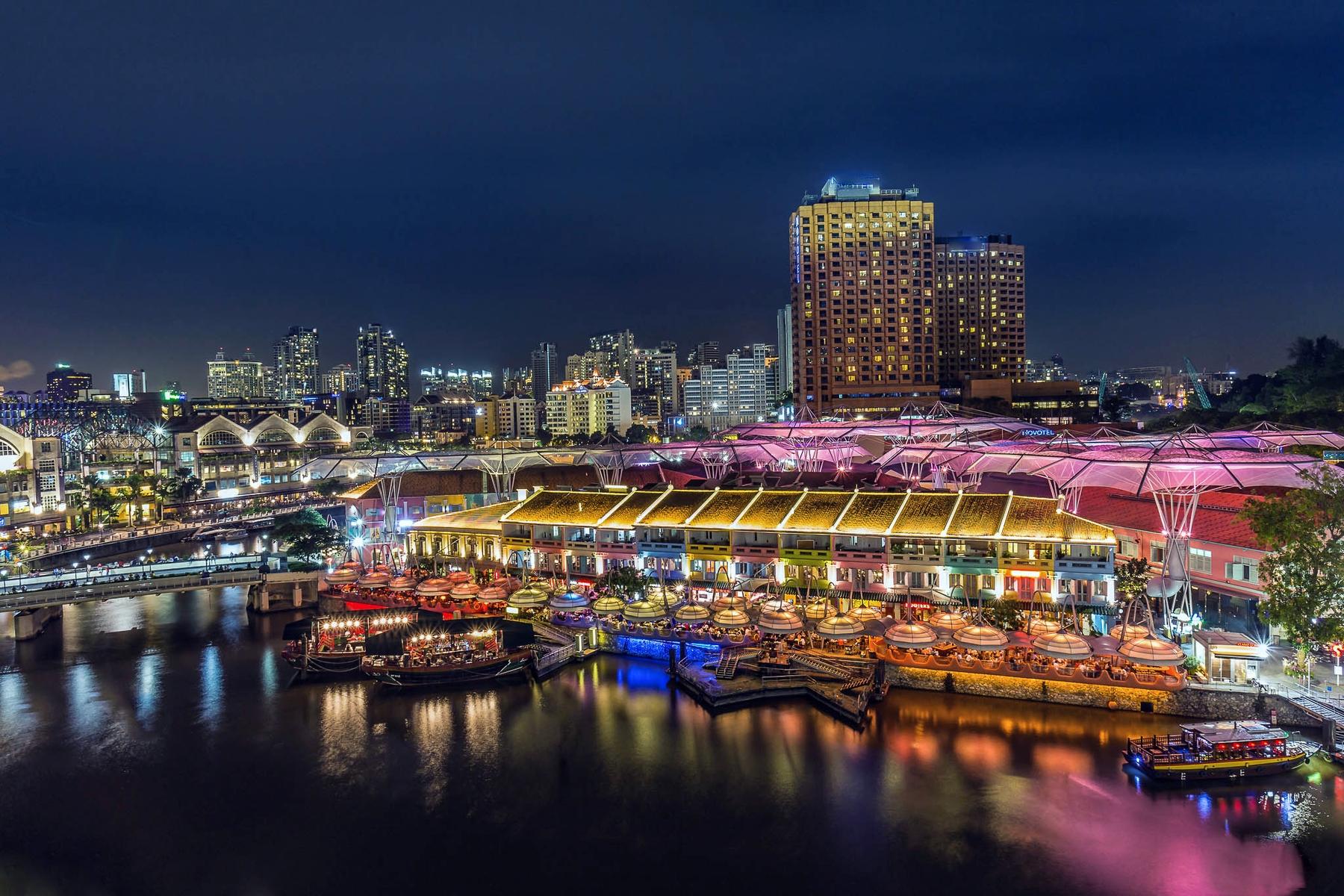 新加坡克拉克碼頭