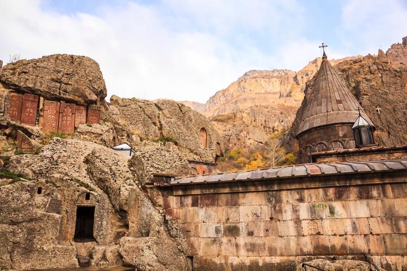 Viaggio in Armenia: Monastero di Geghard