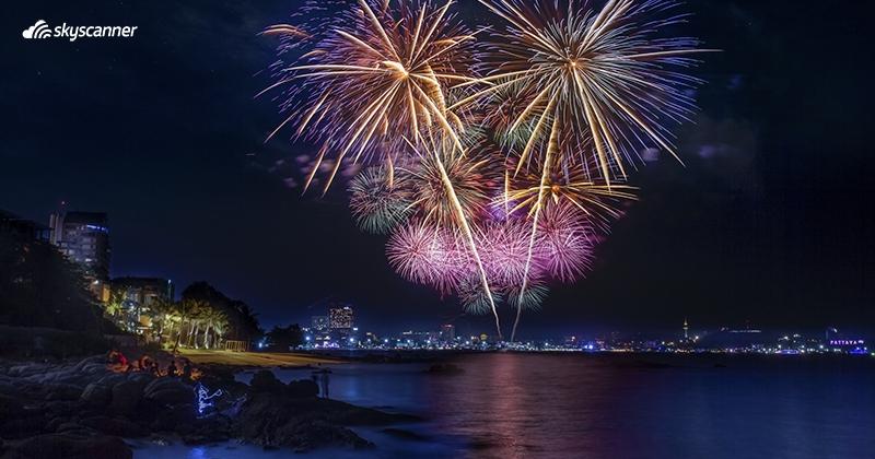 เทศกาลปีใหม่ พัทยา จังหวัดชลบุรี