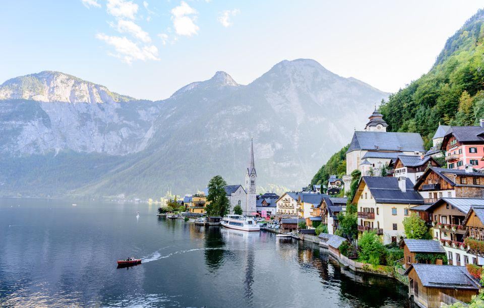 Озеро Хальштеттер, Австрия