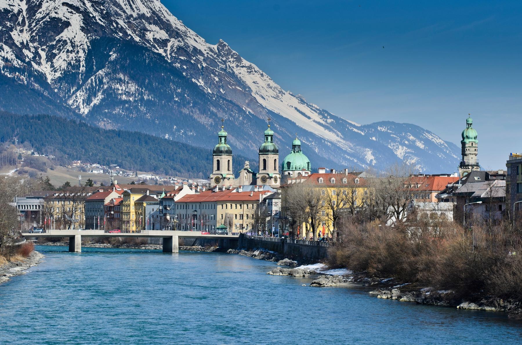Met de nachttrein naar Innsbruck