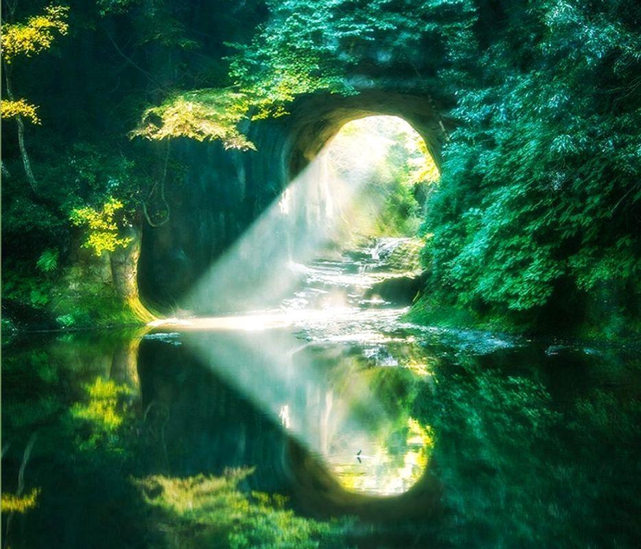 千葉縣濃溝瀑布