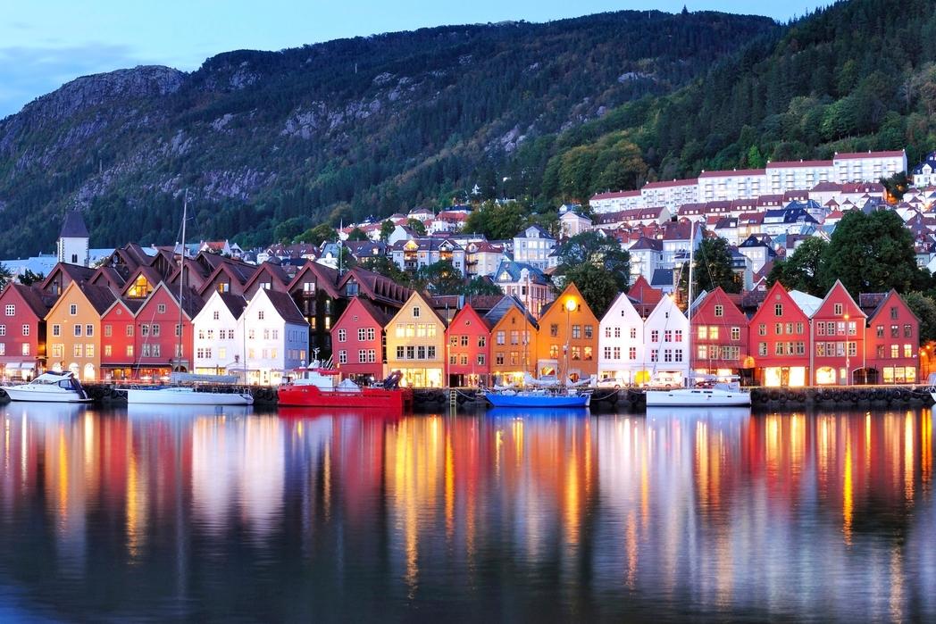 Tαξίδι με τρένο στο Μπέργκεν της Νορβηγίας