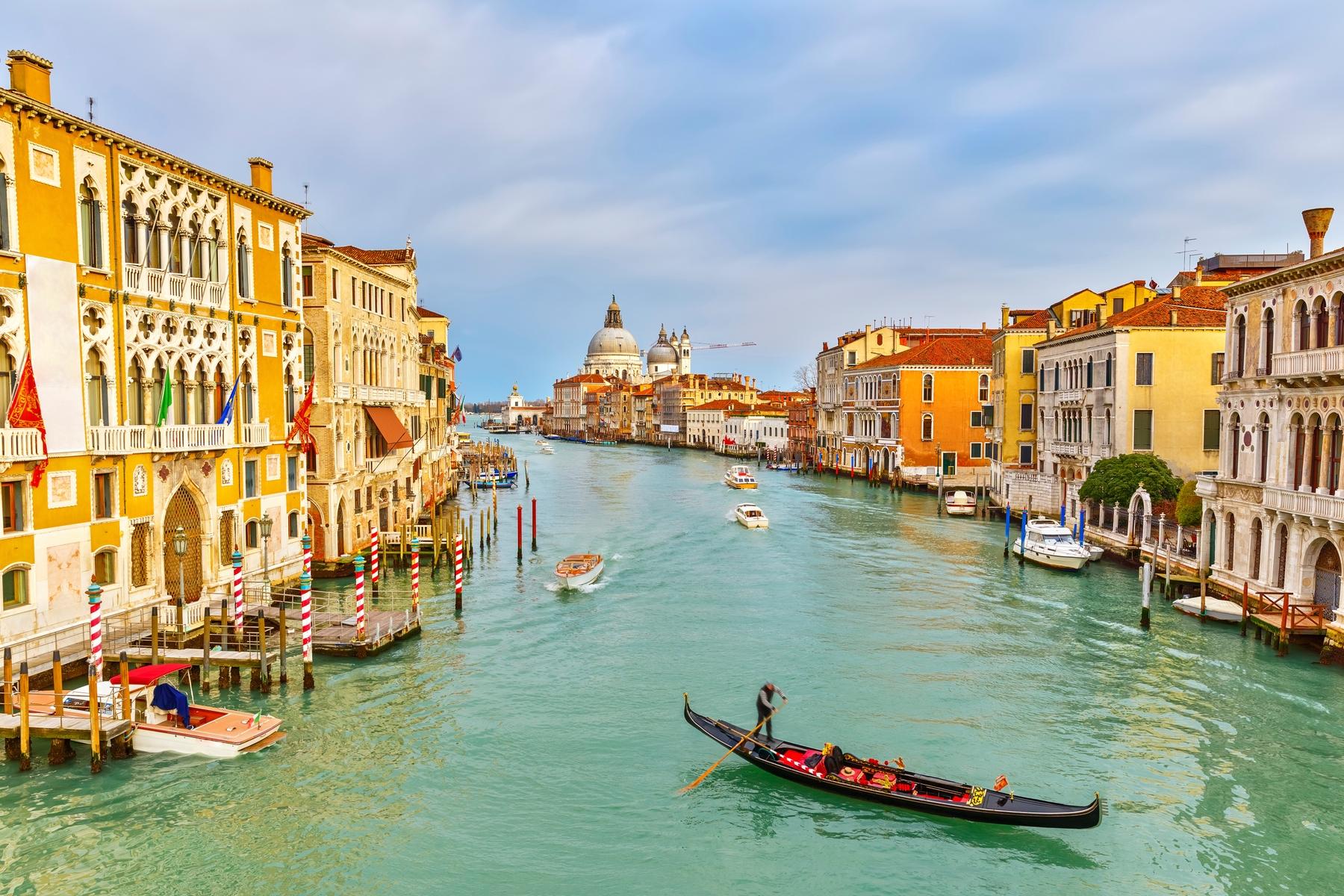 Lugares más bonitos de Italia: Venecia