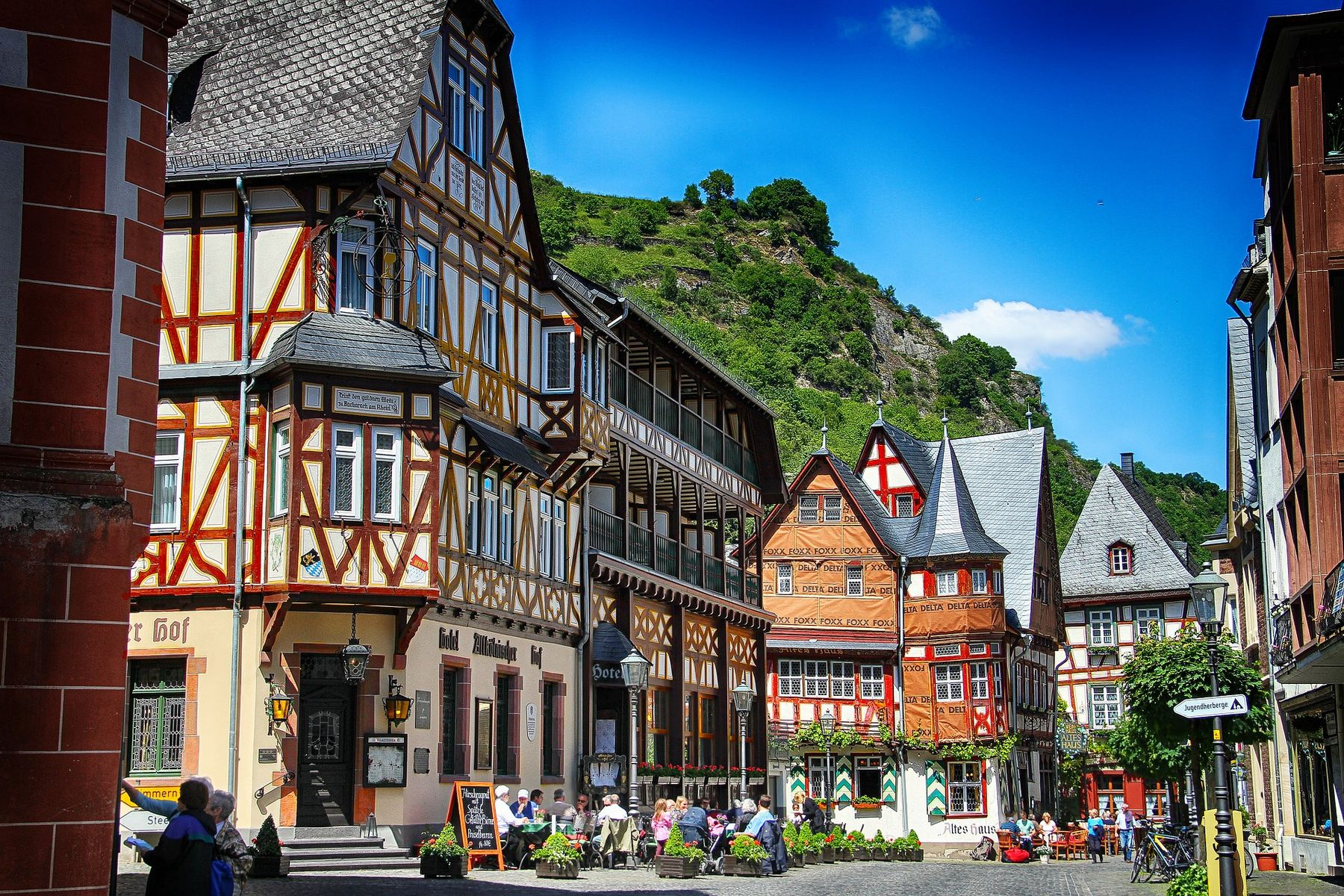 Mooie plaatsen Duitsland Bacharach in Rijnland-Pfalz