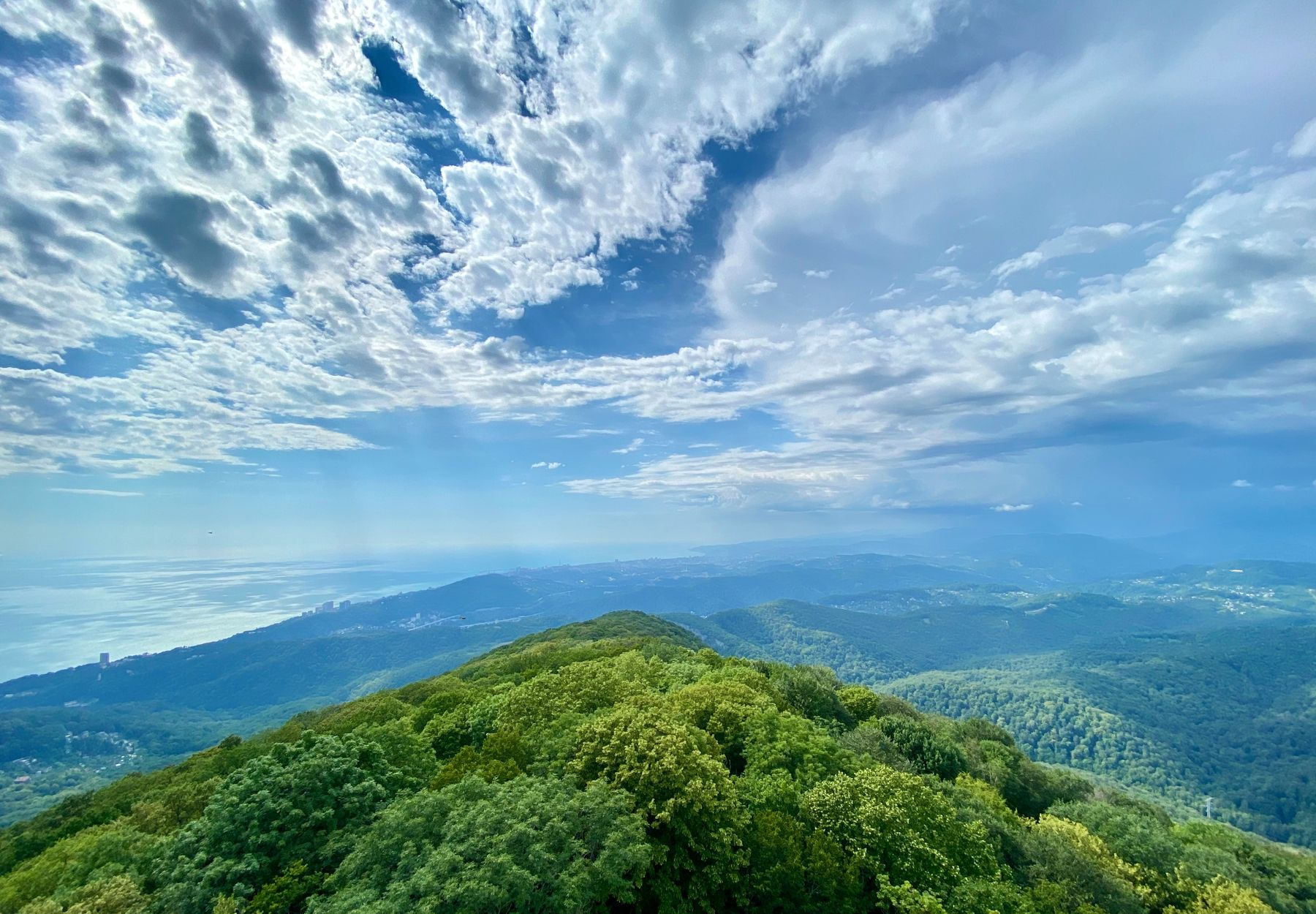 Куда съездить из Сочи: гора Ахун