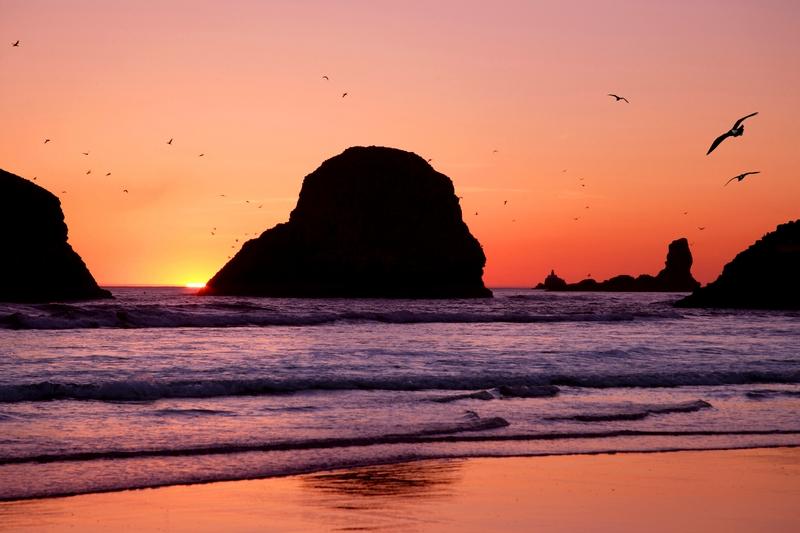 Schöne Strände in den USA: Cannon Beach – Clatsop County, Oregon
