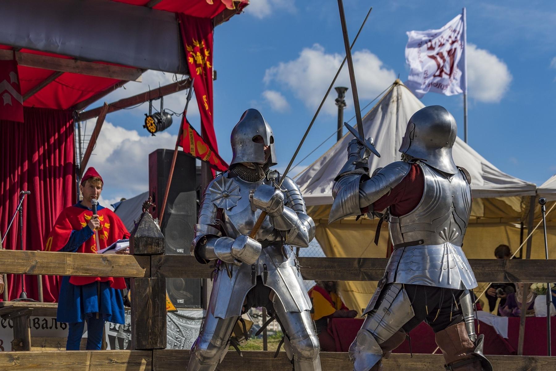 Фестиваль исторической реконструкции в Выборгском замке, Россия