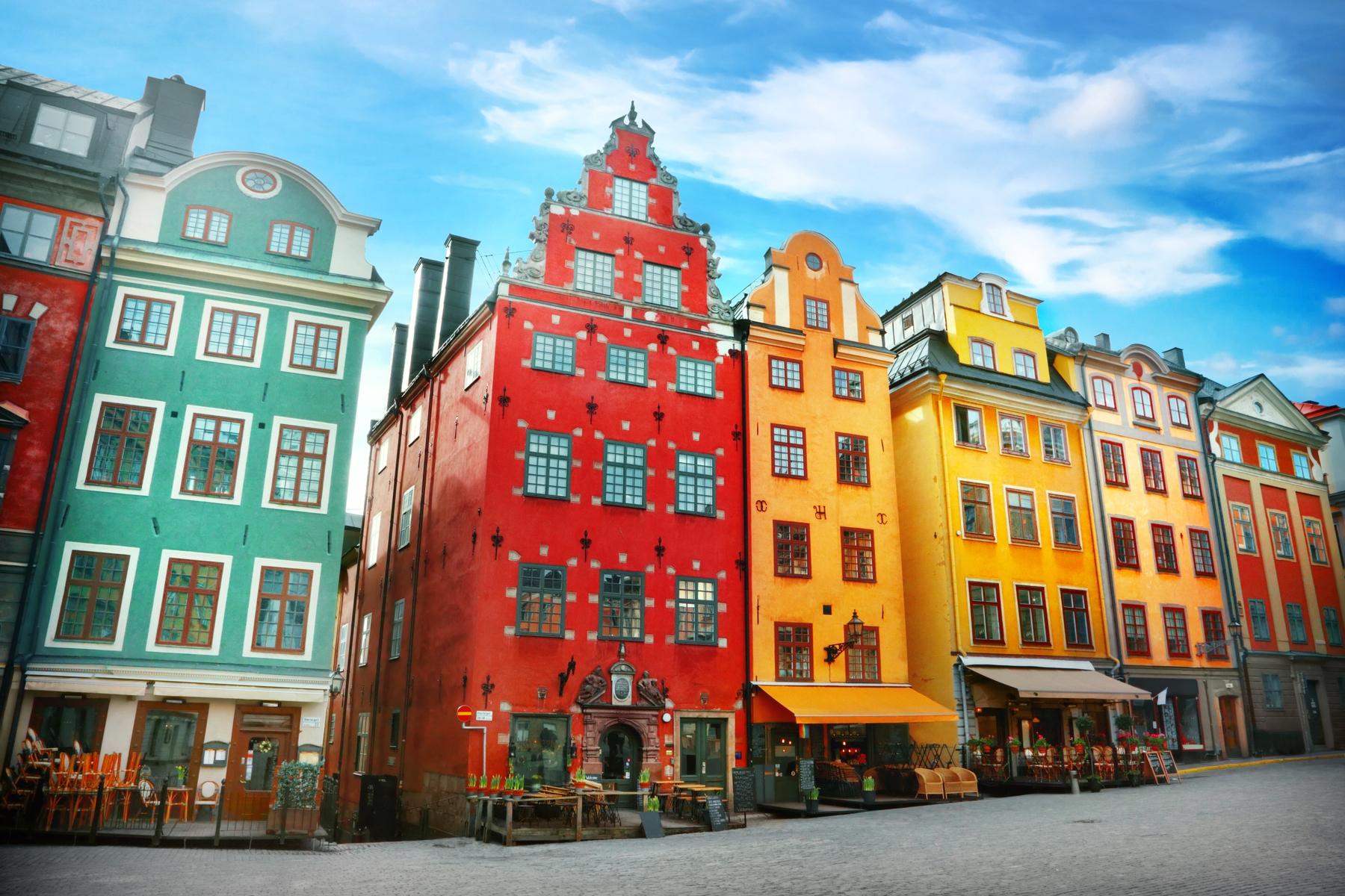 Самые яркие города мира: Стокгольм, Швеция
