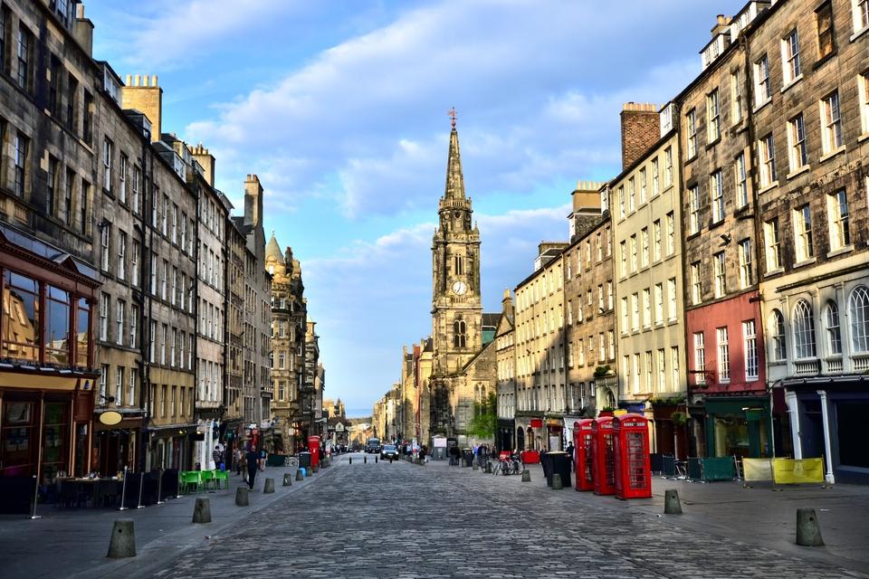 Edimburgo cosa vedere: Royal Mile