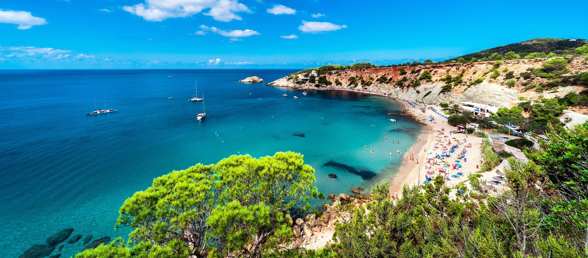Beach in Ibiza - 17 unmissable places in the Balearic Islands
