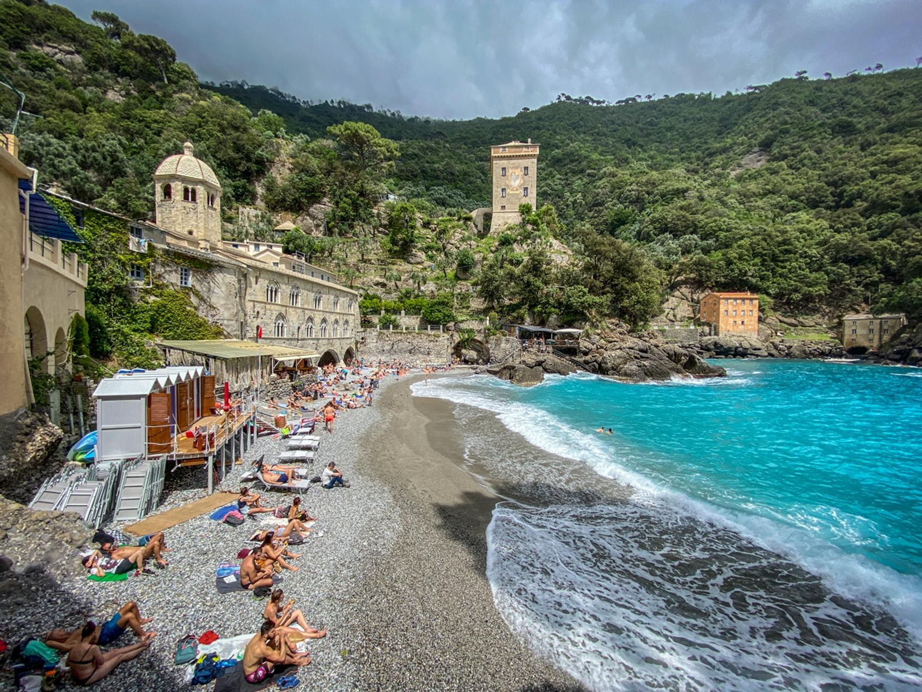 Spiagge più belle della Liguria - San Fruttuoso