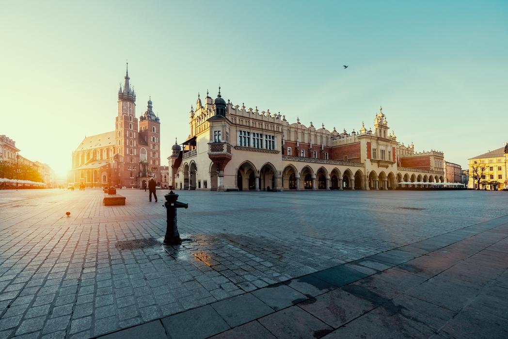 Η πλατεία Rynek Glόwny στην Παλιά Πόλη της Κρακοβίας - Πάσχα στην Ευρώπη
