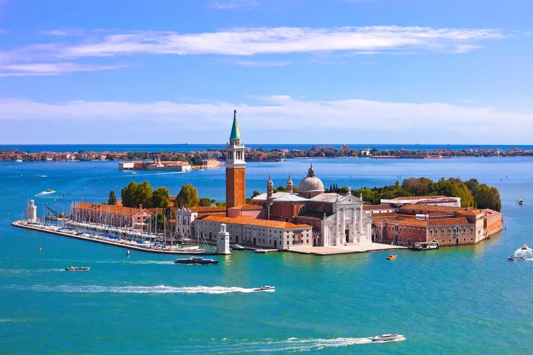 Το San Giorgio Maggiore στη Λιμνοθάλασσα της Βενετίας