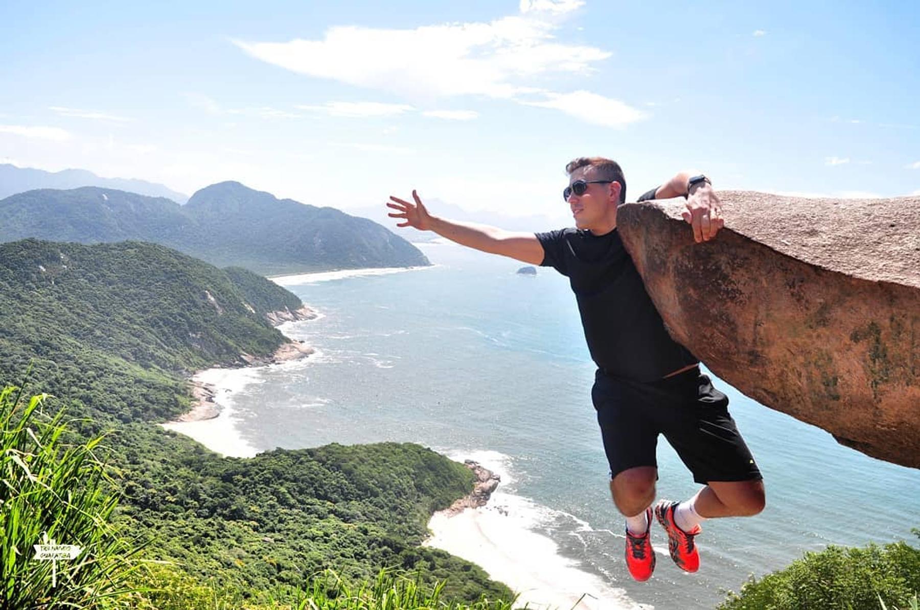 Klippen in Rio de Janeiro, Brasilien