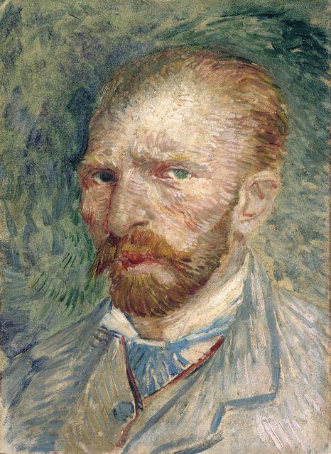 Autorretrato de Vincent Van Gogh en el Museo Kröller-Müller © Holland.com