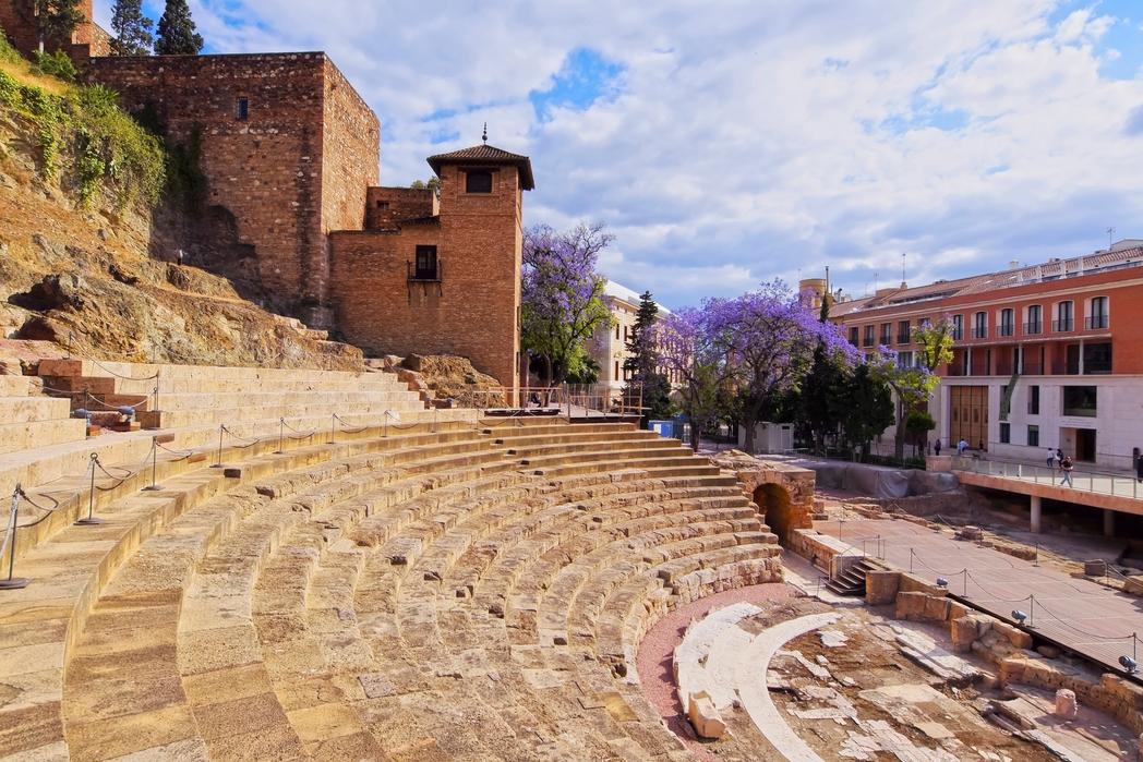 The Roman Theatre - a top tourist attraction in Malaga