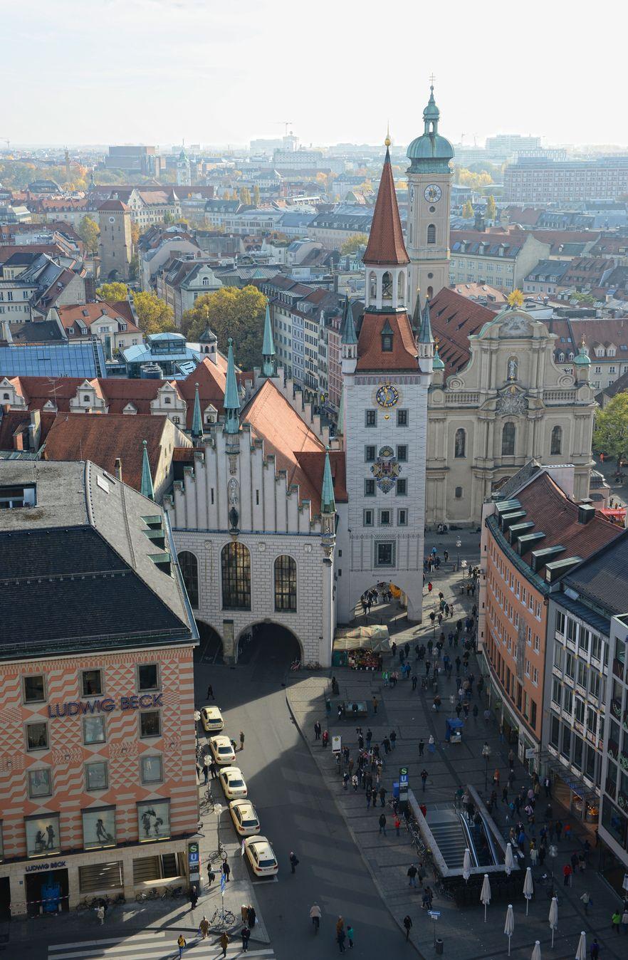 Πανοραμική θέα το Μονάχου