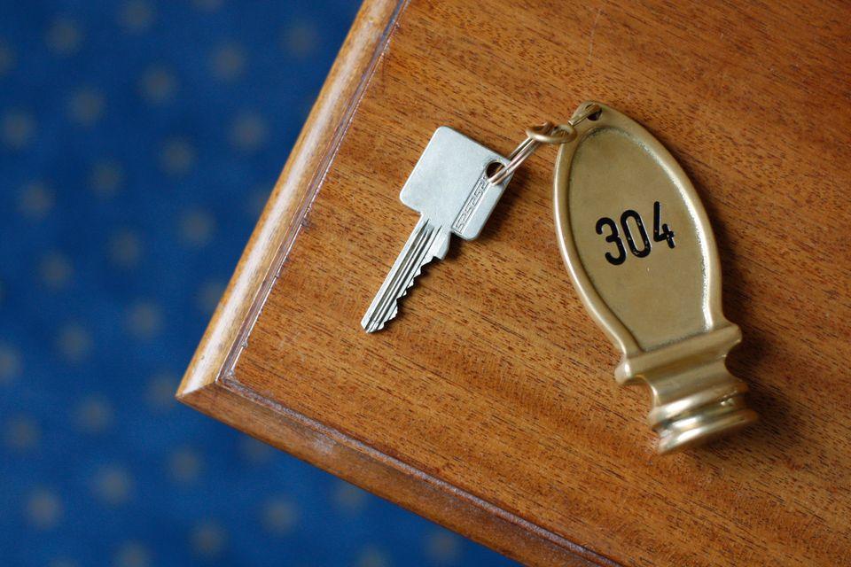 Κλειδί δωματίου ξενοδοχείου