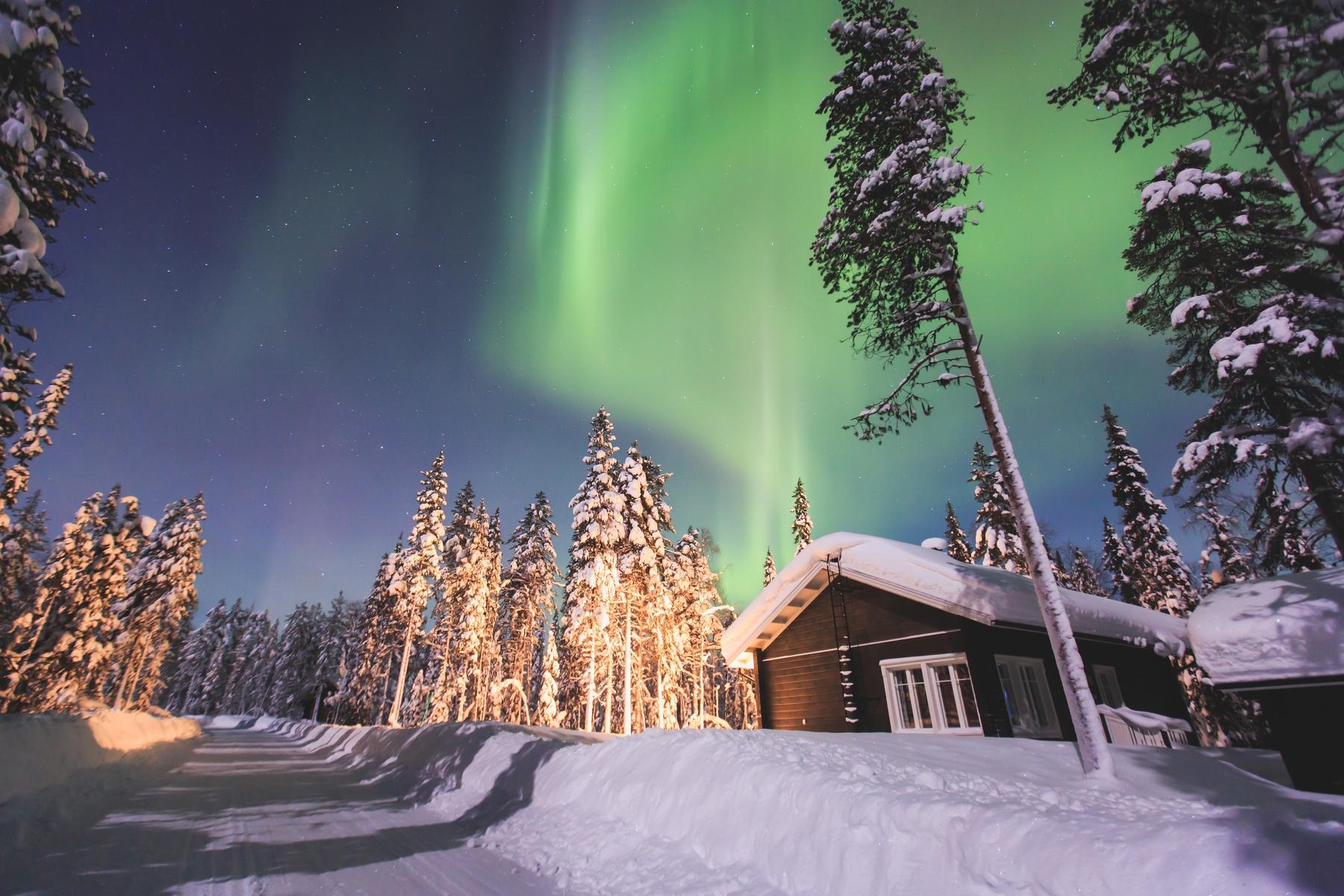 Vacaciones en familia 2021 en Laponia