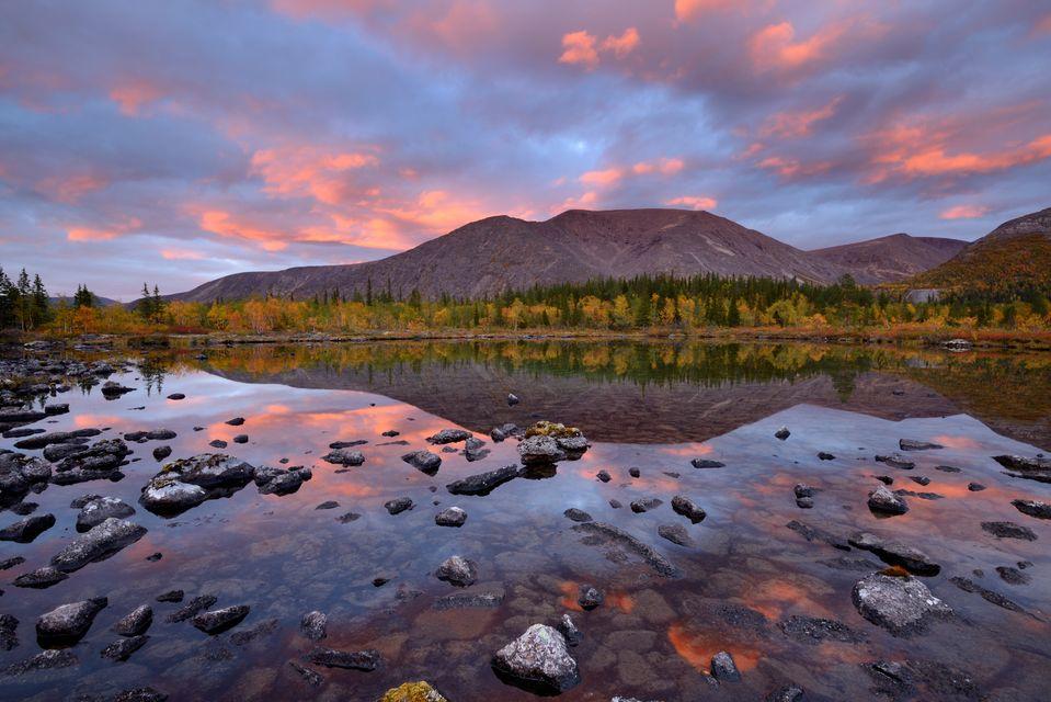 Поездка в Хибины в сентябре-октябре