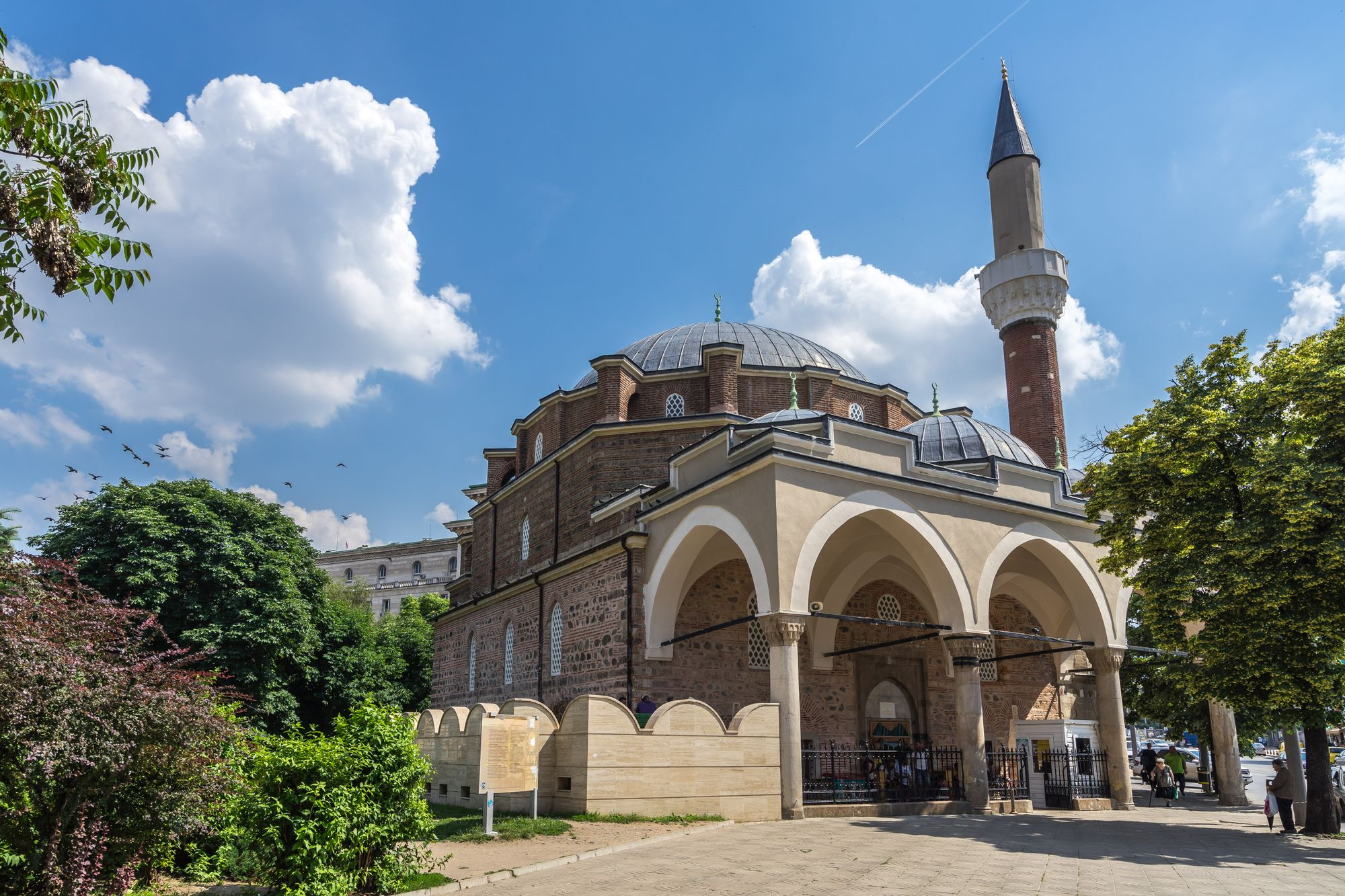 The Banya Bashi Mosque is one of Sofia's top tourist attractions
