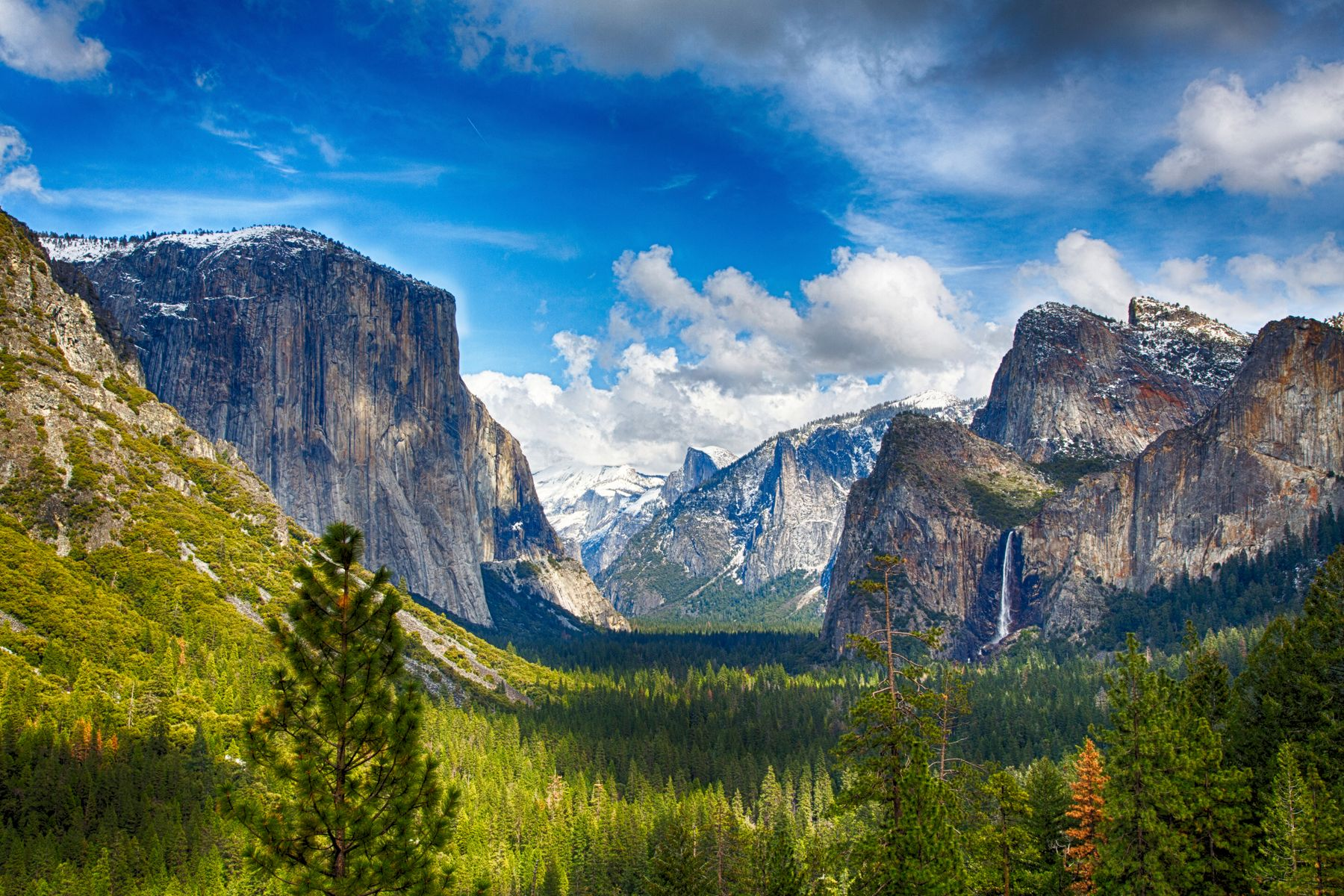 Yosemite National Park, one of the best places to visit in USA