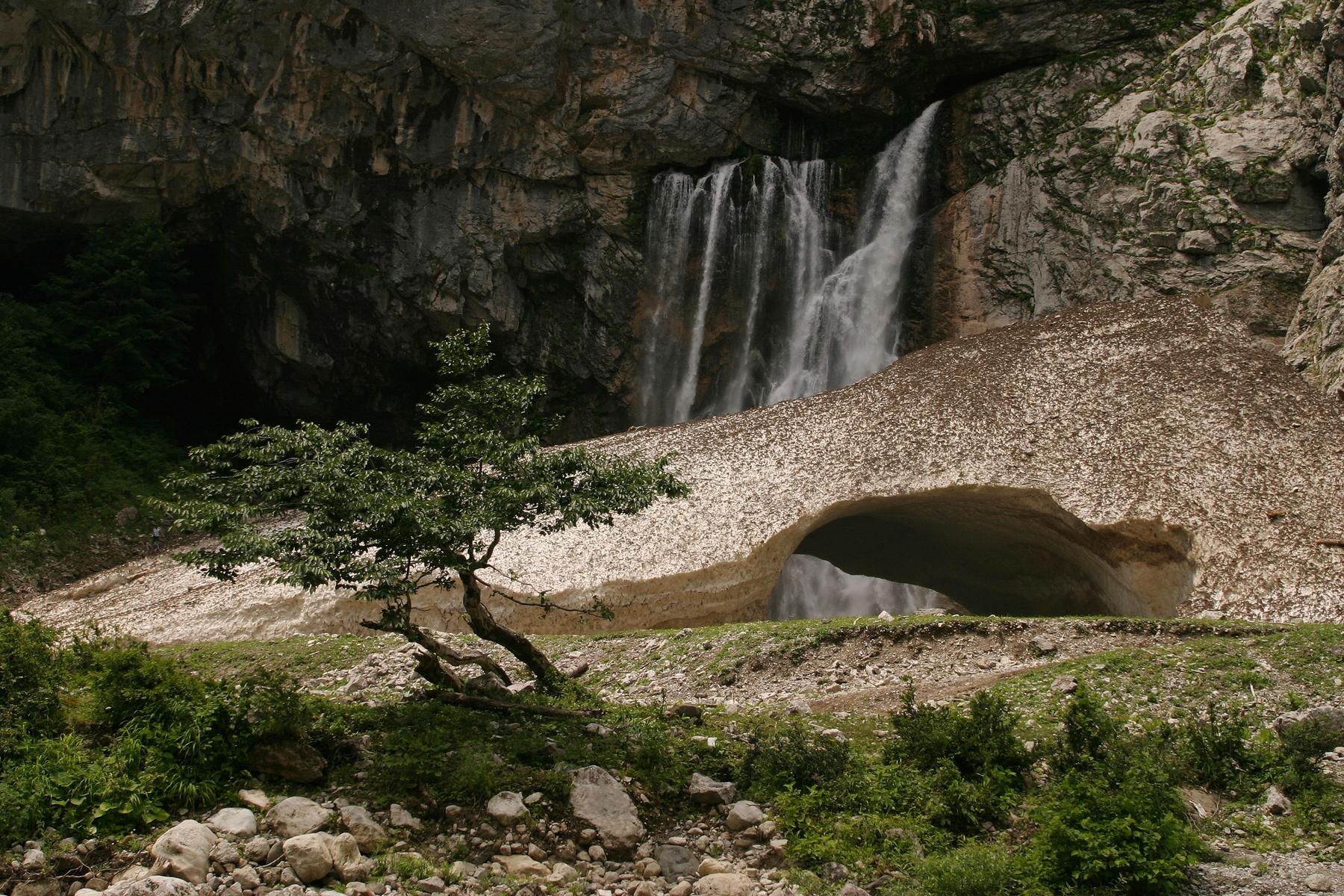 Природные чудеса Абхазии. Гегский водопад
