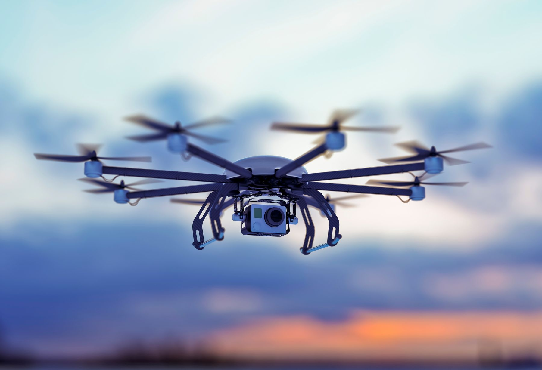 Drone as hang luggage