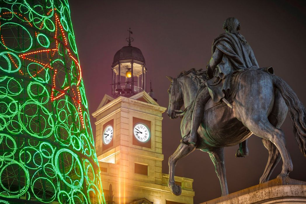 Christmas in Puerta del Sol, Madrid, Spain - Top 10 Christmas and New Year holidays for 2019/2020
